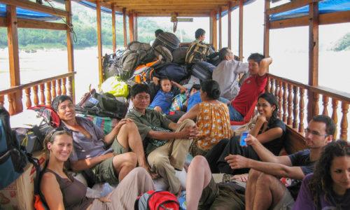 Laos : Croisière sur le Mékong