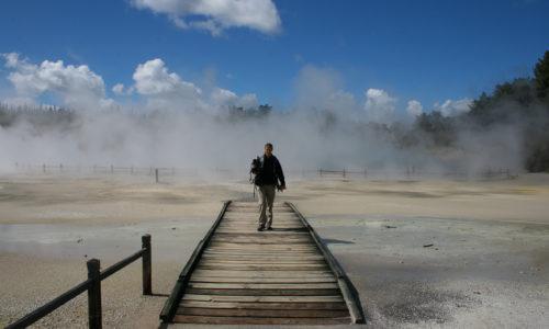 Nouvelle Zélande : Rotorua et les parcs géothermiques