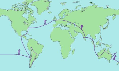 Un tour du monde en 365 jours